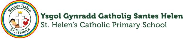 Santes Helen Catholig Ysgol Gynradd Logo